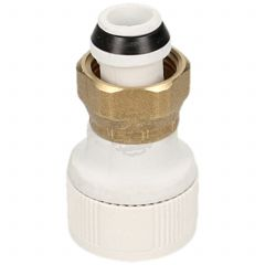 Whitespeed Push Fit 15 mm X 1/2 Tap Connector